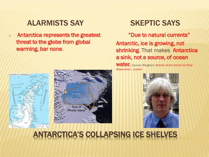 Alarmists say