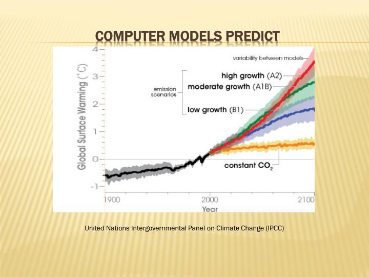 Computer models predict