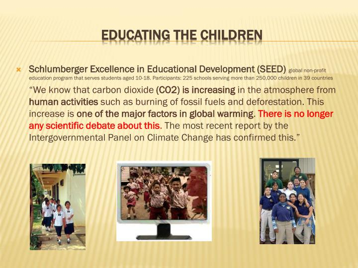 Schlumberger Excellence in Educational Development (SEED)