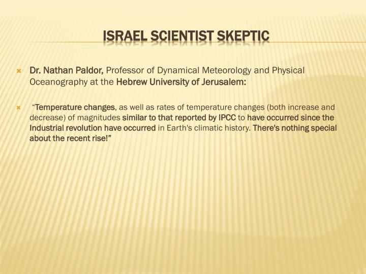 Dr. Nathan Paldor,