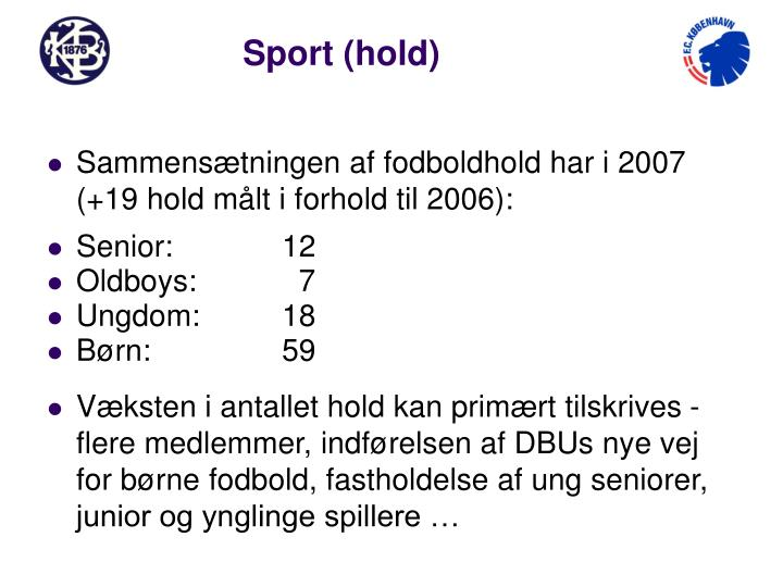 Sport (hold)