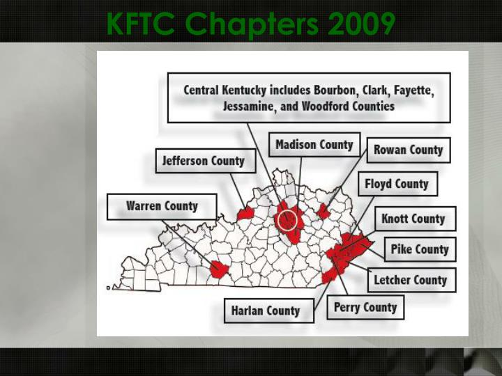 KFTC Chapters 2009