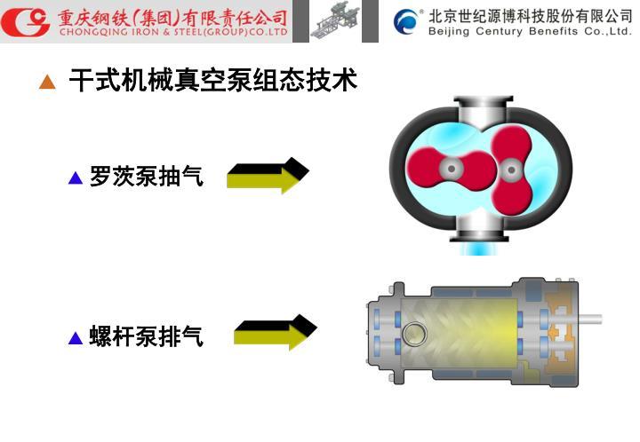 干式机械真空泵组态技术