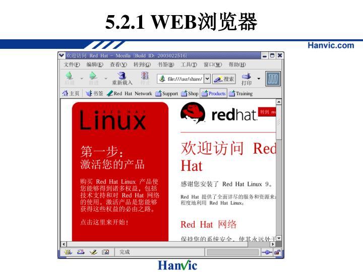 5.2.1 WEB