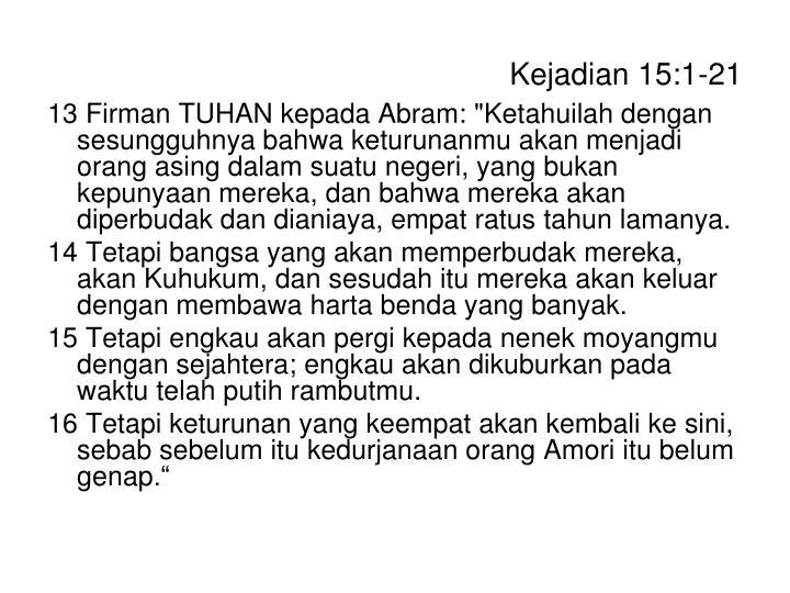 Kejadian 15:1-21