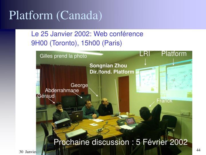 Platform (Canada)