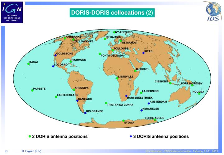 DORIS-DORIS collocations (2)