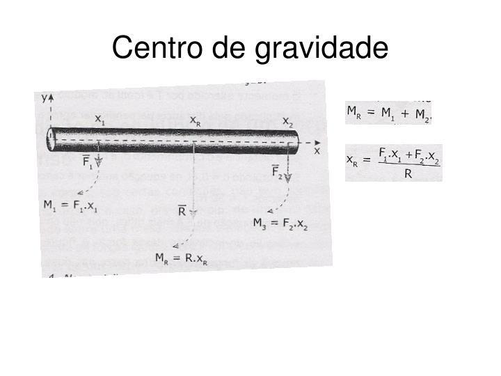 Centro de gravidade