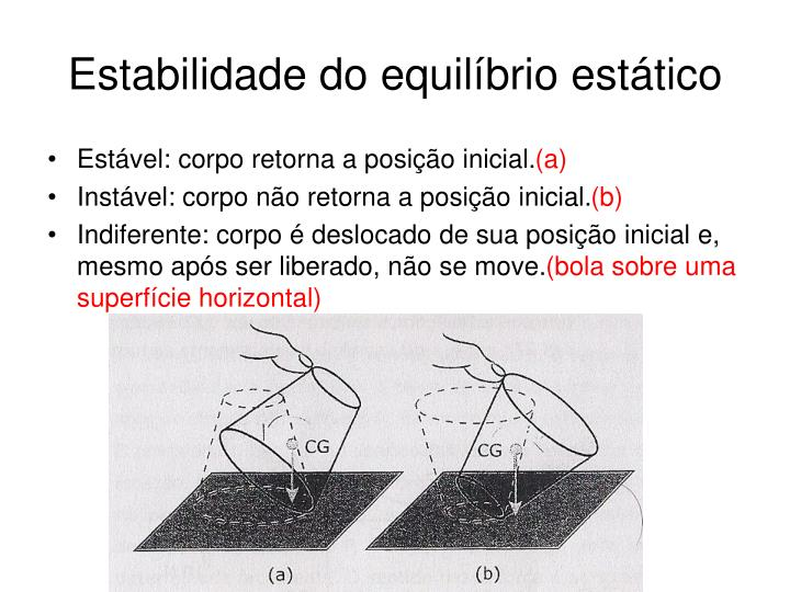 Estabilidade do equilíbrio estático