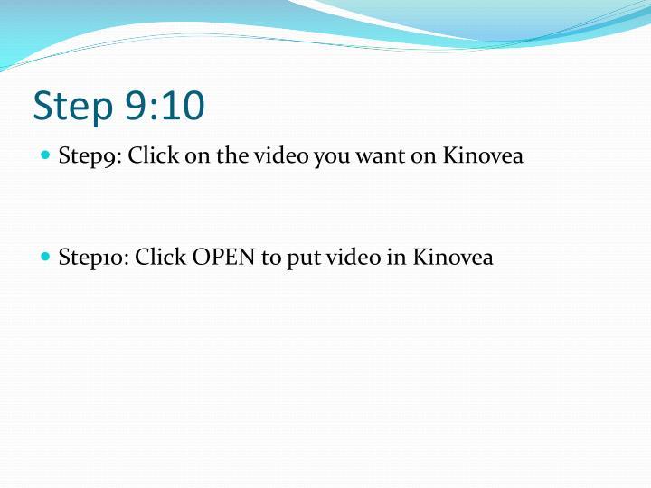 Step 9:10