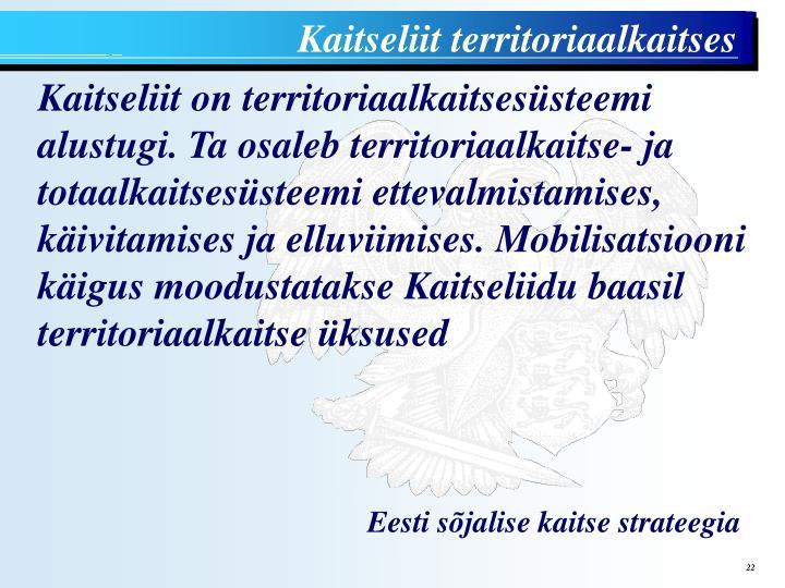 Kaitseliit territoriaalkaitses