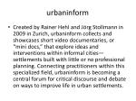 urbaninform