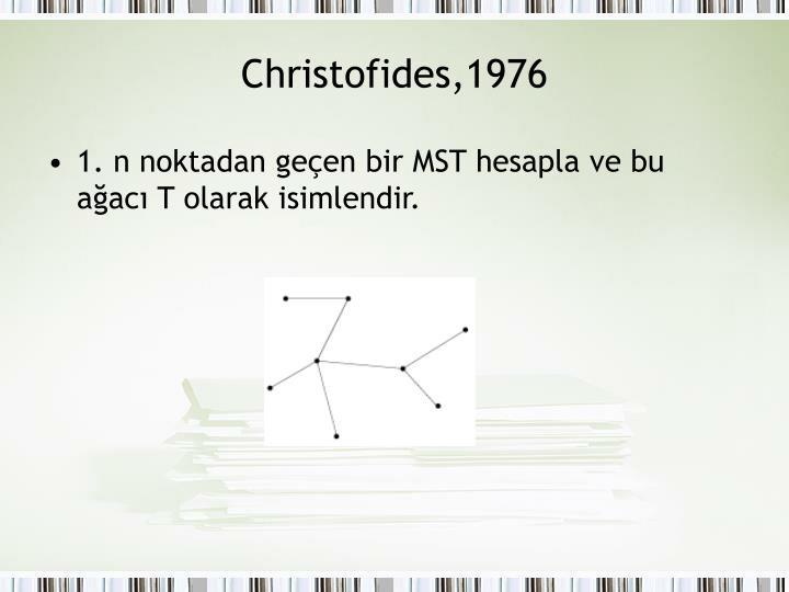 Christofides,1976