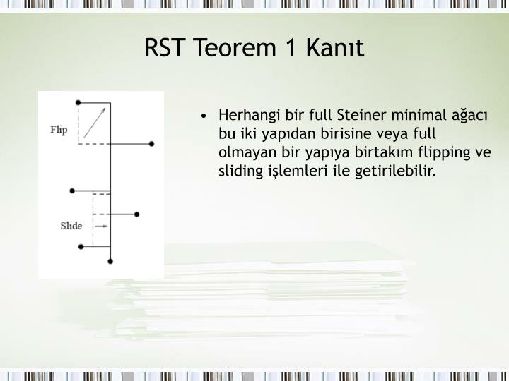 RST Teorem 1 Kanıt