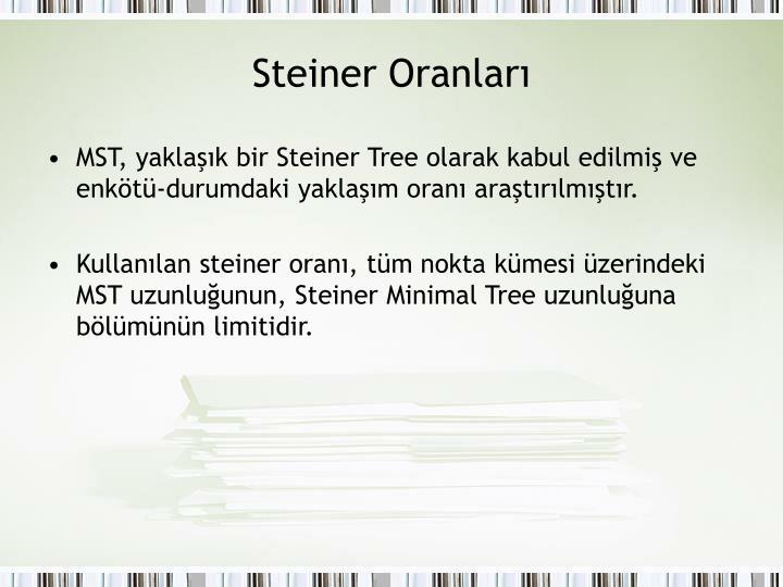 Steiner Oranları