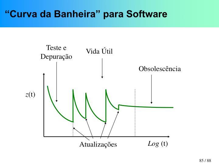 """""""Curva da Banheira"""" para Software"""