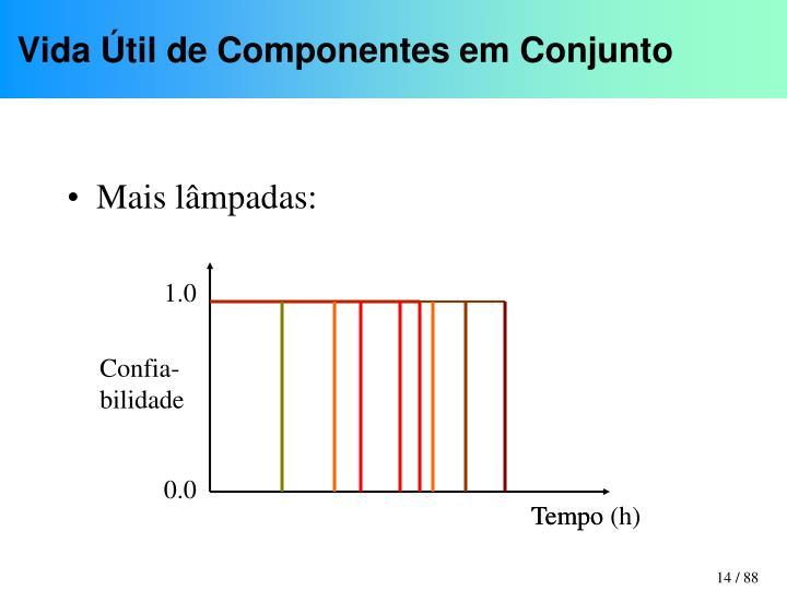 Vida Útil de Componentes em Conjunto