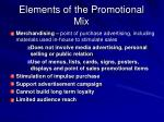 elements of the promotional mix3