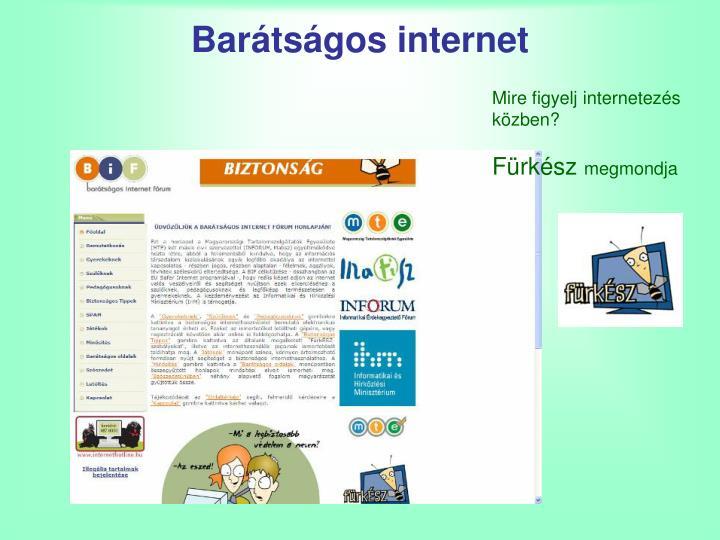 Mire figyelj internetezés