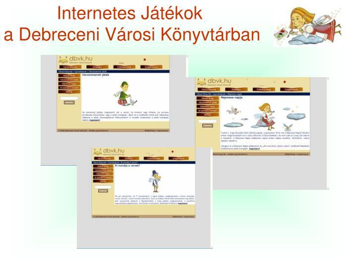 Internetes Játékok