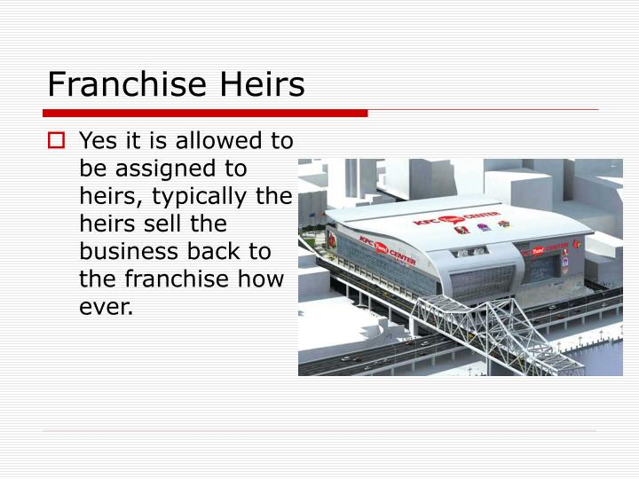 Franchise Heirs