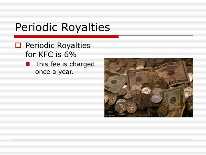 Periodic Royalties
