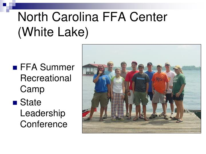 North Carolina FFA Center (White Lake)