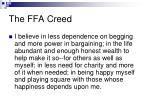 the ffa creed3