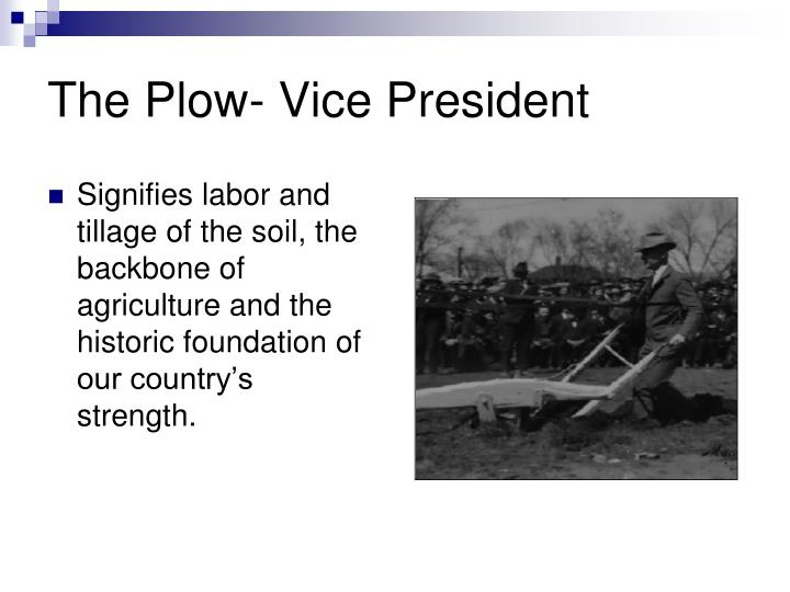 The Plow- Vice President