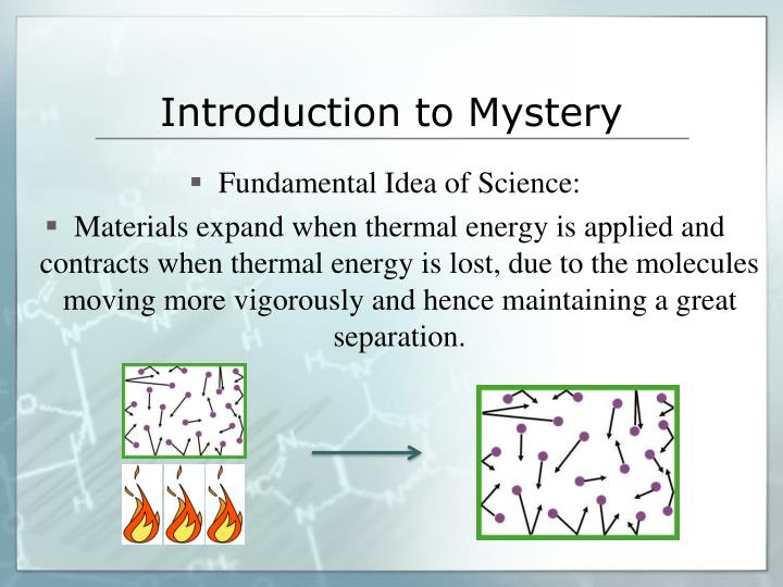 Introduction to Mystery