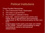 political institutions1