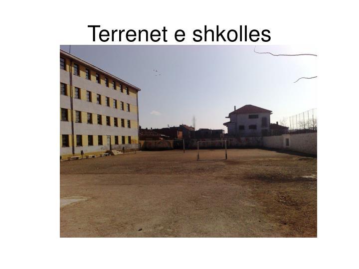 Terrenet e shkolles