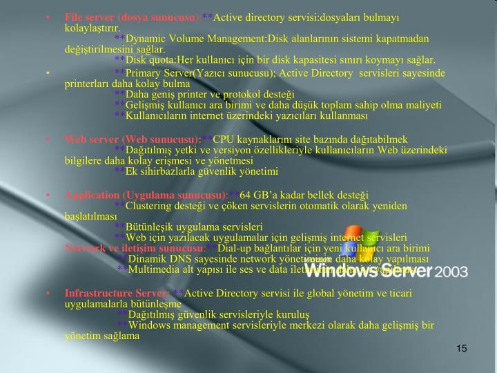 File server (dosya sunucusu