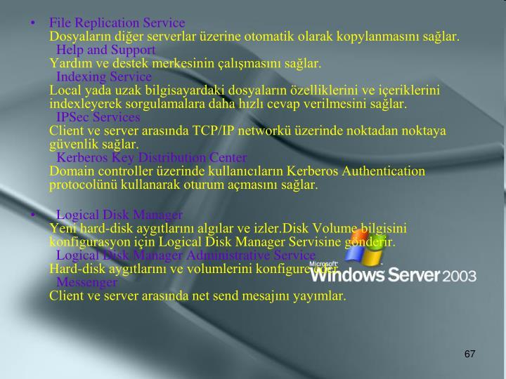 File Replication Service