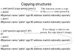 copying structures