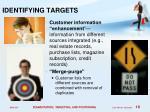 identifying targets