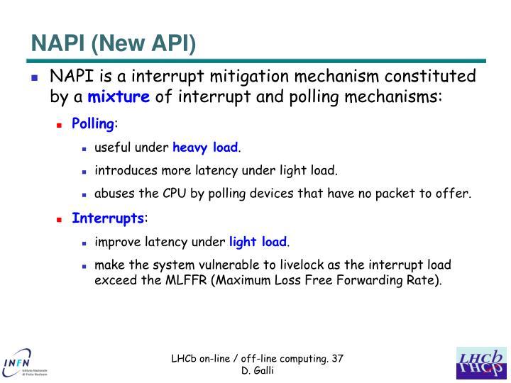 NAPI (New API)
