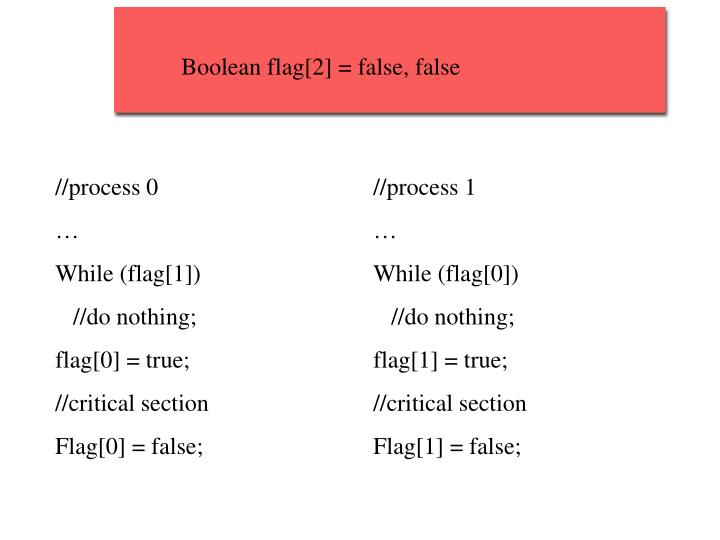 Boolean flag[2] = false, false