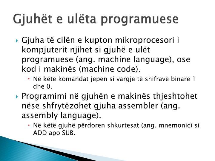 Gjuhët