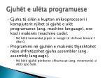 gjuh t e ul ta programuese