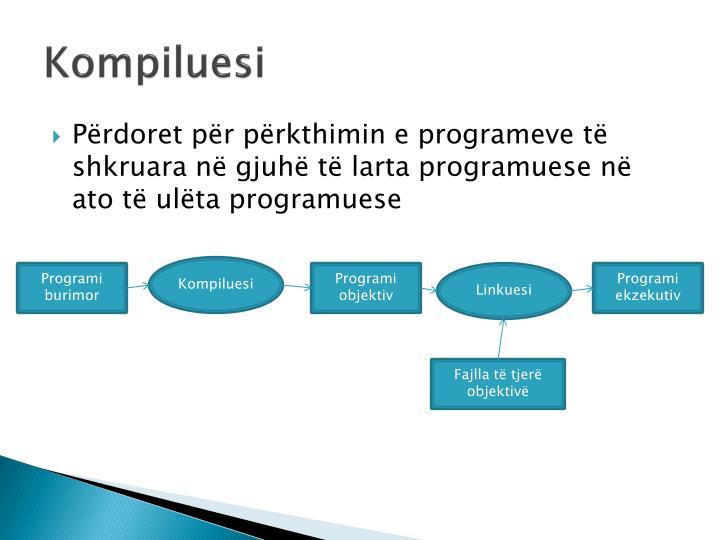 Kompiluesi