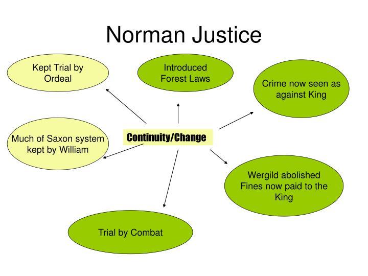 Norman Justice
