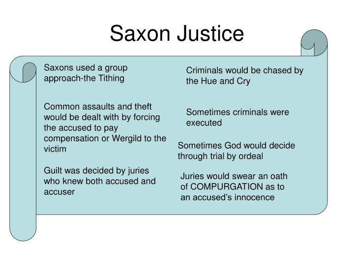 Saxon Justice