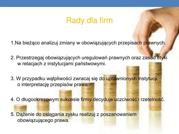 Rady dla firm