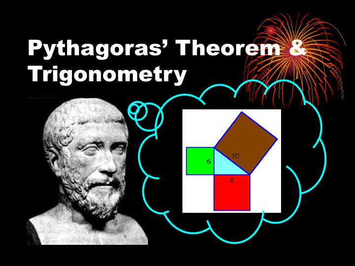 Pythagoras theorem trigonometry