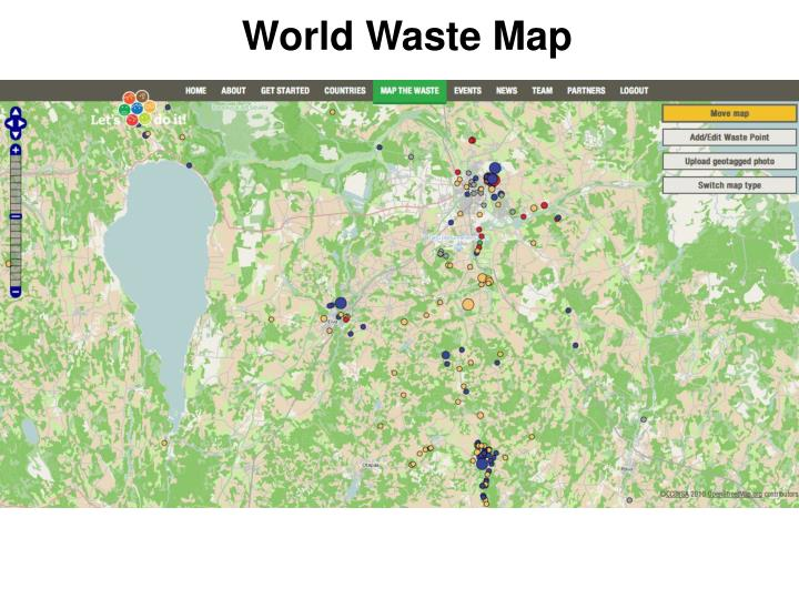 World Waste Map