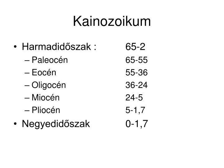 Kainozoikum