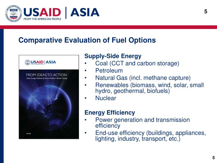 Comparative Evaluation of Fuel Options