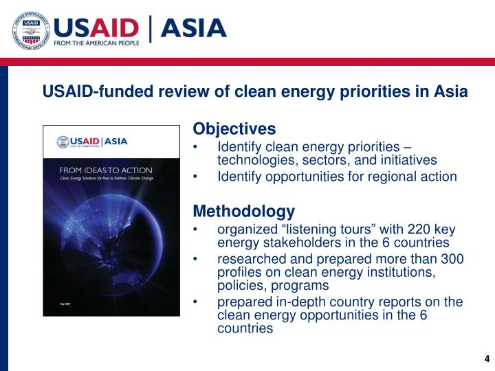 USAID-funded review of clean energy priorities in Asia