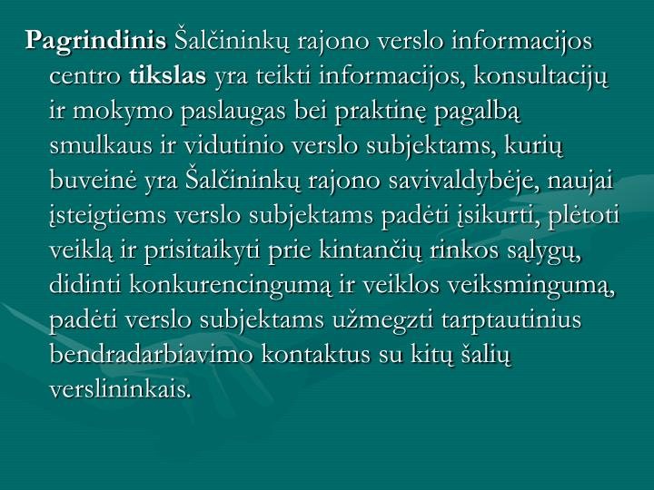 Pagrindinis